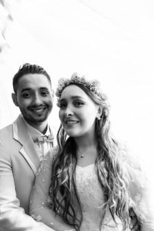 Lisa y Sergio.